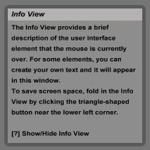 חלון המידע